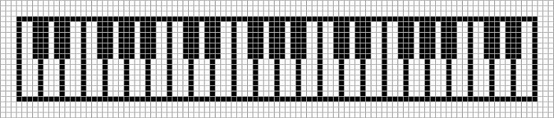 Схема фенечки из бисера