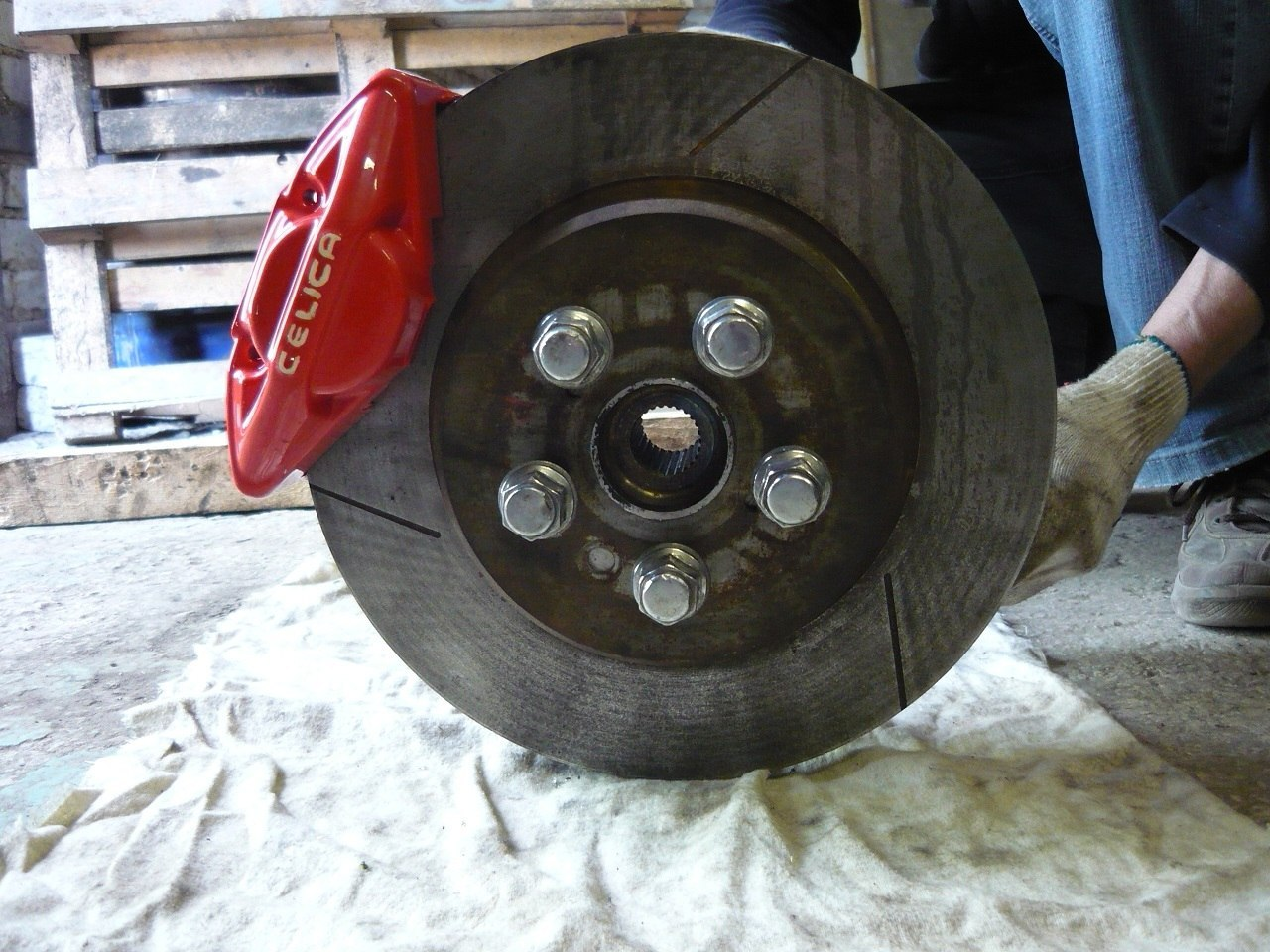 Gt Four Brake On Zzt231 Archive Page 2 Forum Wilwood Disc Kitfront Stock Replacementhonda262mm Rotors