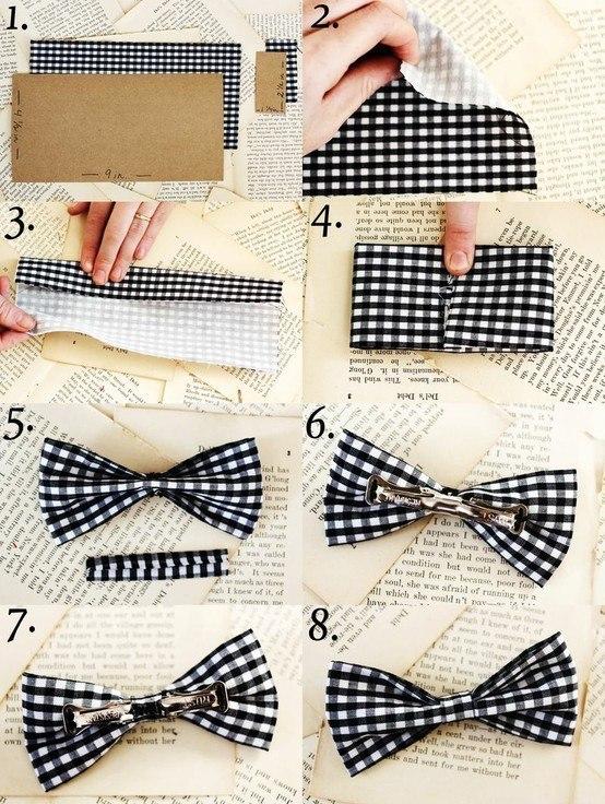 Как сделать из ткани бант своими руками