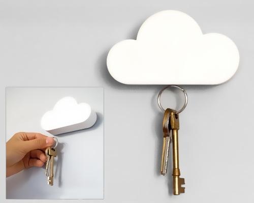 Облачко магнитик для ключей