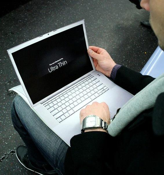 Реклама ноутбука