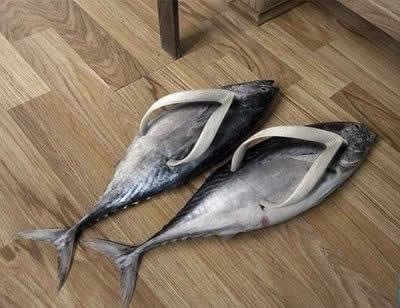 Тапки рыбы, лучший подарок для рыбака