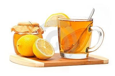 ...кипяченой воды 1 ч. ложку меда и сок половины лимона, выпить за 3 раза.