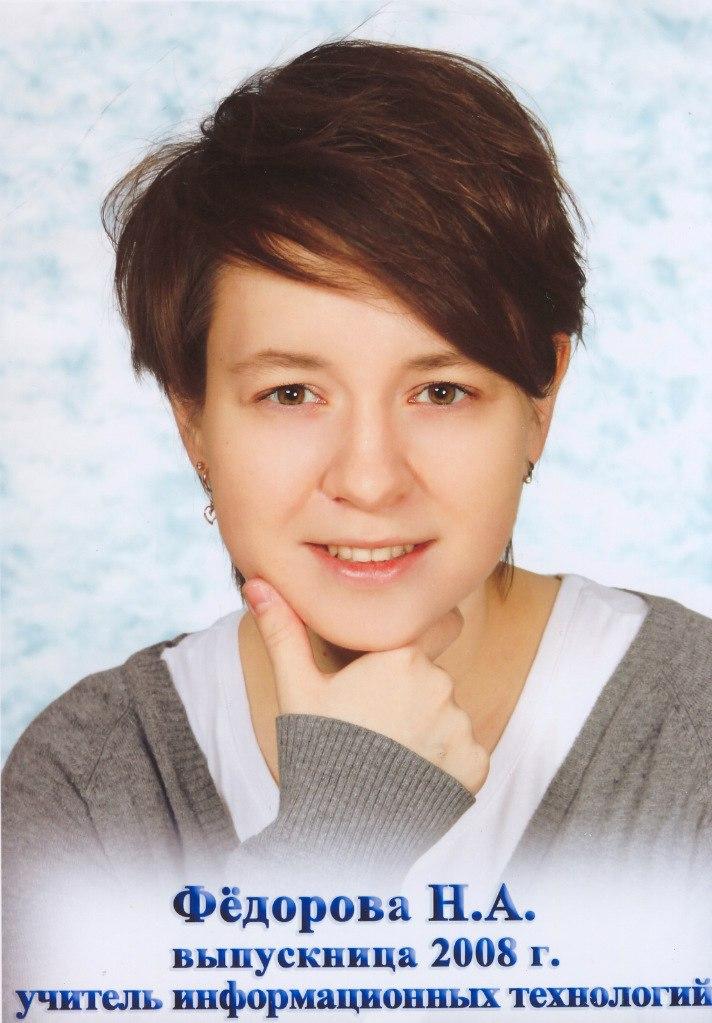 Наталья Андреевна Федорова