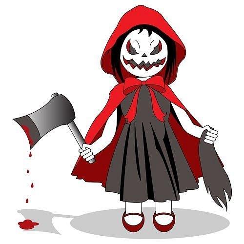 Красная шапочка - до сих пор моя любимая сказка. И вот моя небольшая