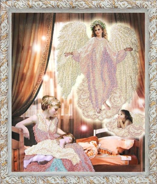 Вышивка бисером ангел сна