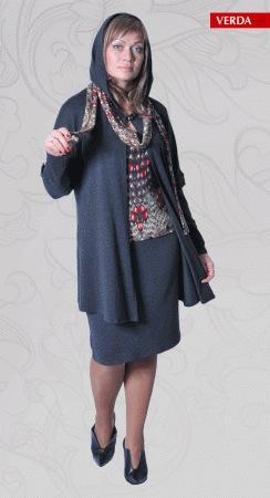 модели платья для полных женщин фото весна 2014