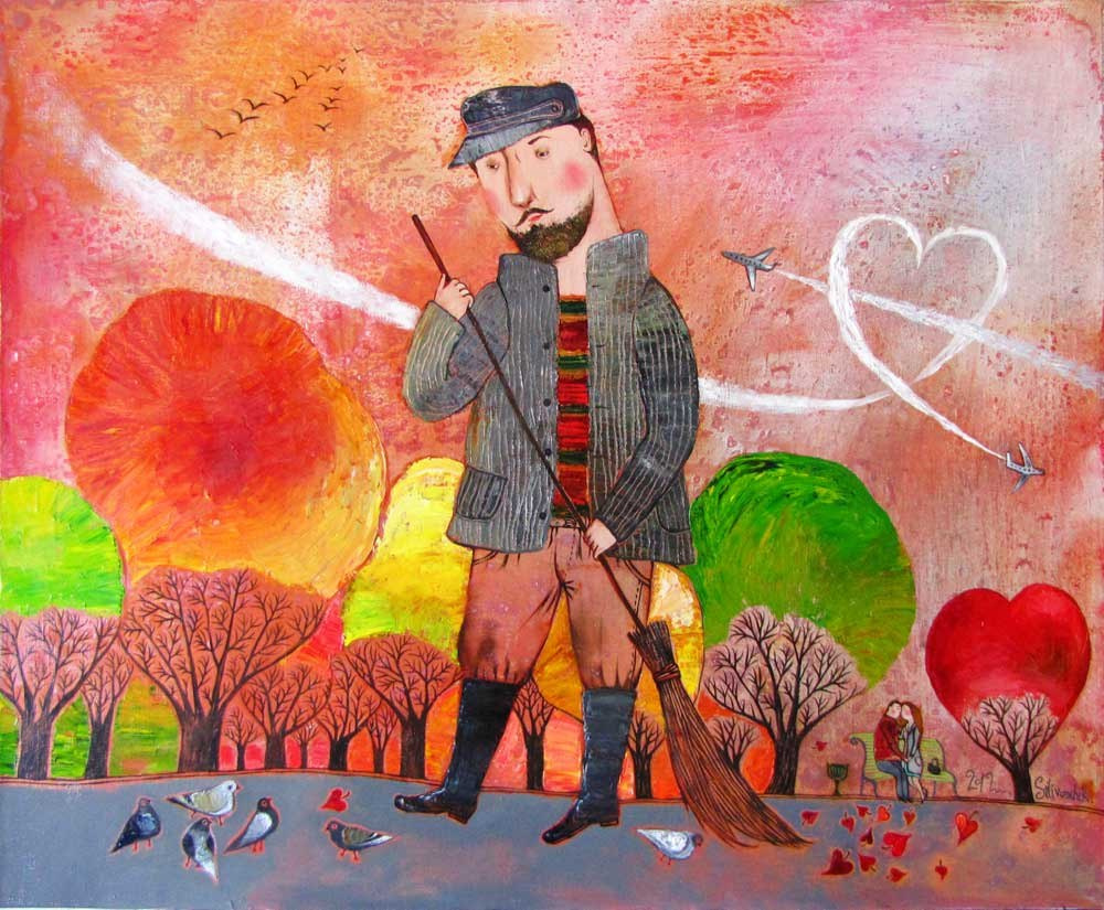 Выставка живописи Анны силивончик и презентация благотворительного календаря на 2013 год