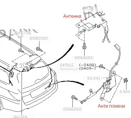 Index together with How To Remove Antena On A 2002 Ford Explorer Sport furthermore 1996 Mazda Millenia Wiring Diagram And Electrical System Troubleshooting also Diagram Besides Subaru Legacy Radio Wiring As Well besides  on subaru legacy antenna