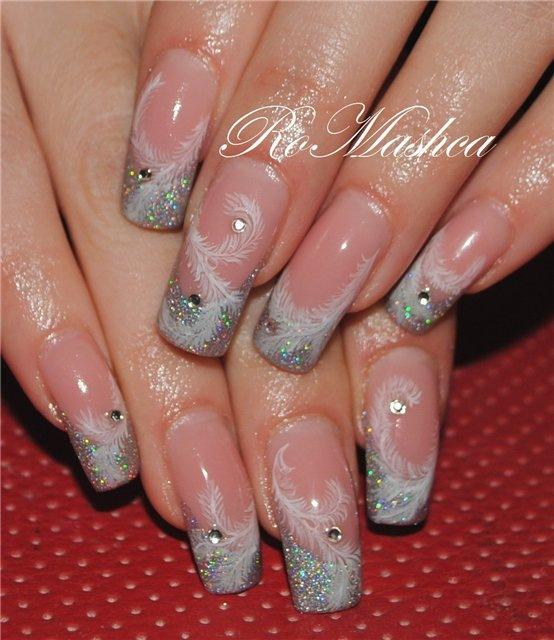 Дизайн нарощенных ногтей новое