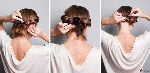 Убрать красиво волосы