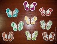 Милые мастерицы, если Вам пригодится эта подборочка с оригинальными моделями сердечек и бабочек для вязания крючком с...