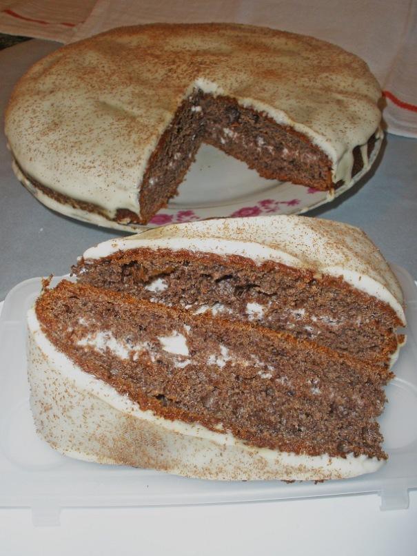 Торт черемуховый испечь с фото