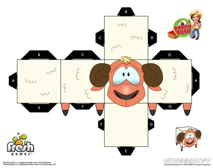 Бумажные модели для детей