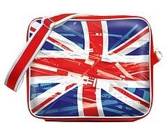 """Молодежная сумка  """"British """" - подарок для влюбленных в традиция..."""