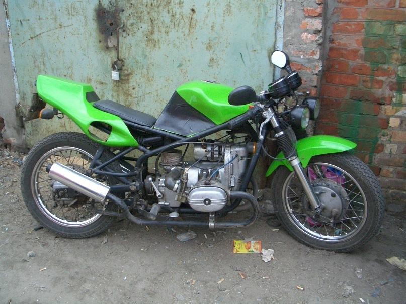 Мотоциклы урал тюнинг своими руками 100