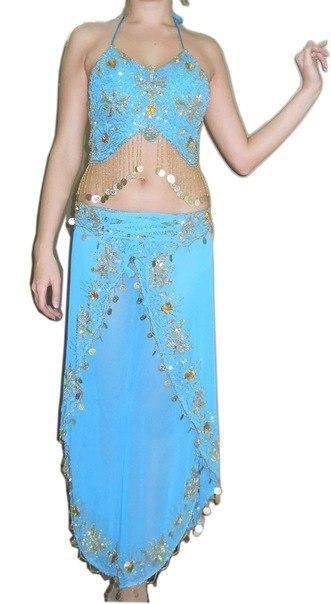 Срочно продам новые костюмы для восточных танцев: Взрослый и детский...