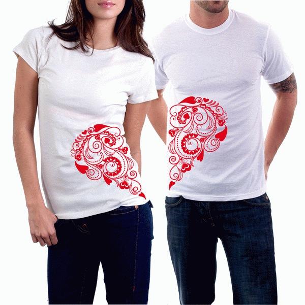 дизайнерские футболки печать