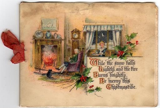 Be happy and lucky for you few old russian christmas cards from the
