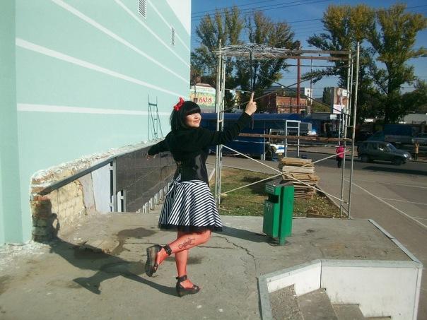 """Фотоотчет с выставки """"Рыжая ворона. Хеллоуин по-русски 2010"""" 16 октября X_9a65476b"""