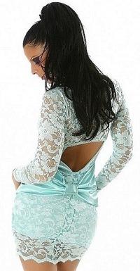 кружевное платье фото - фотография 7.