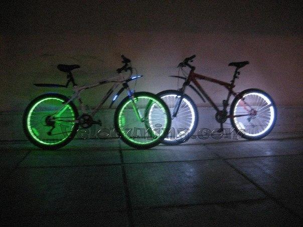 Подсветка колес 2 шт!