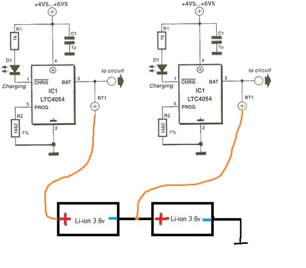 Контроллер заряда li ion своими руками