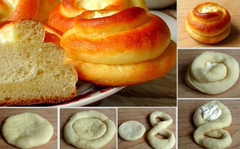 Как красиво сделать форму булочек