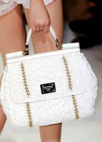 Вязаные сумки 2011 от Dolce & Gabbana FashionWalk.ru.