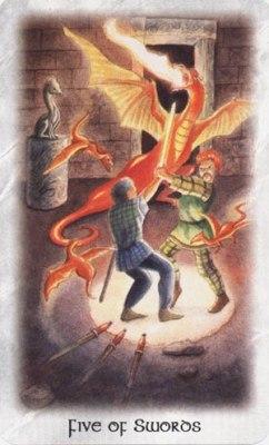 Таро Кельтских Драконов IquHfZ_dDWU