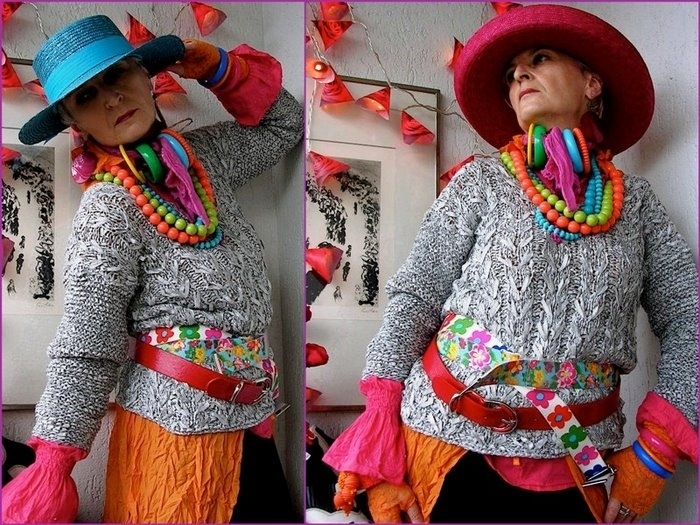 креативное вязание от Mizzie Morawezs или красота без возраста