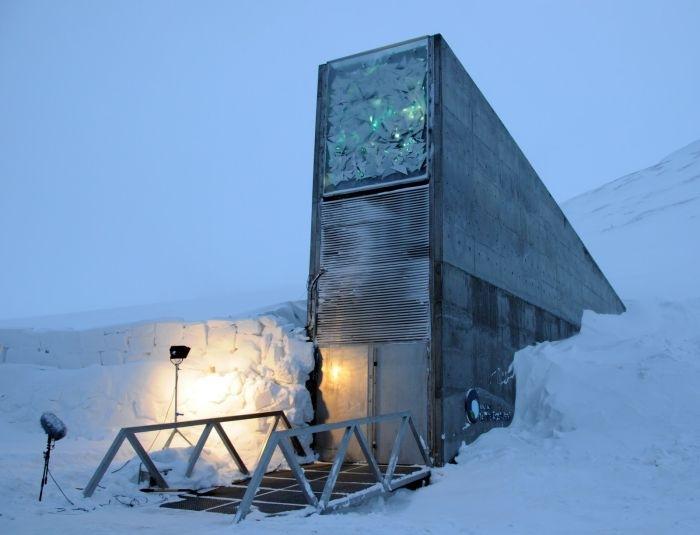 Глобальное зернохранилище в Норвегии