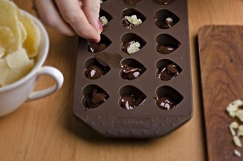 Шоколадный мастер-класс своими руками 183