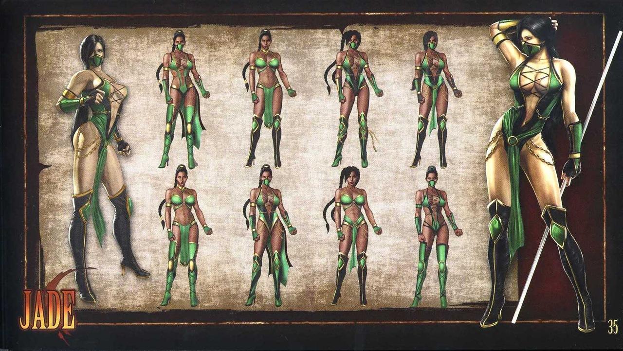 Pics of jade in mortal kombat 9  erotica scene
