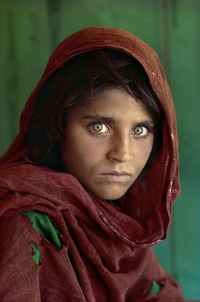 Самый редкий цвет человеческих глаз в