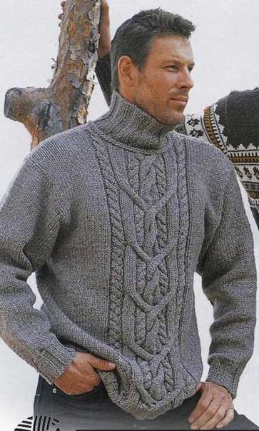 На вязание на спицах кофты размером 44