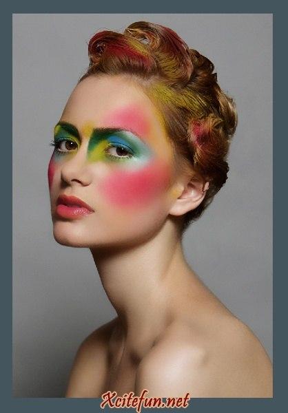 Дневной макияж как сделать глаза больше