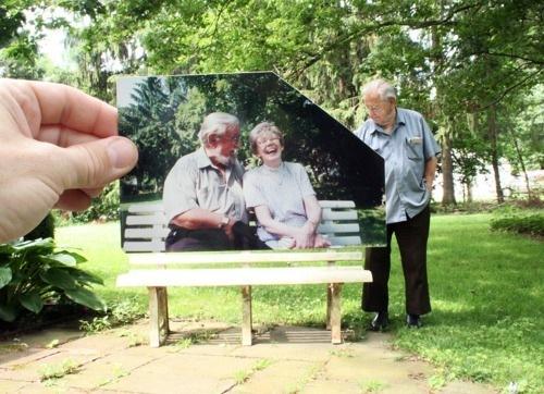 дедуля и бабуля...