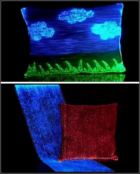 светящееся подушка