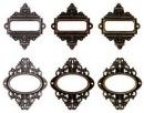 Металлические рамки от Tim Holtz.