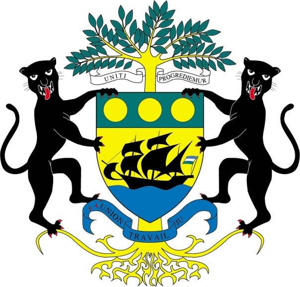 Страны африки гербы