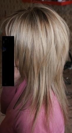 стрижка снизу коротко сверху длинно фото