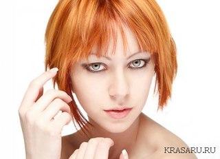 Покрашенные волосы в сперме - f5086