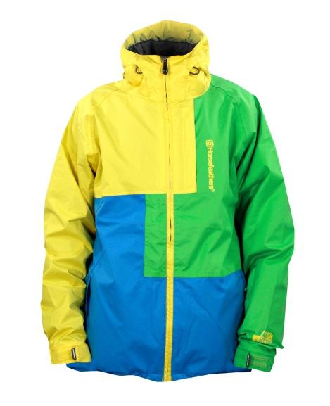 Сноубордическая куртка Horsefeathers Taurus Yellow.