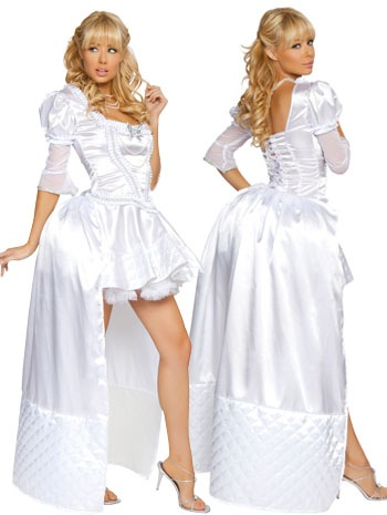 Белый queen costume - Lovermix.
