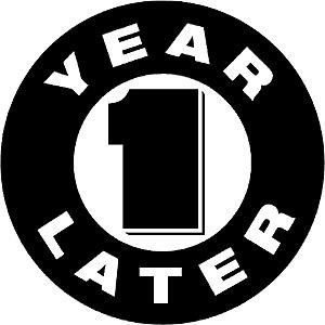 Один год!