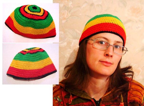 До конца мая шапки-растаманки