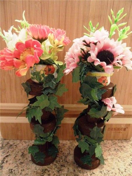 оби подставка для цветов: