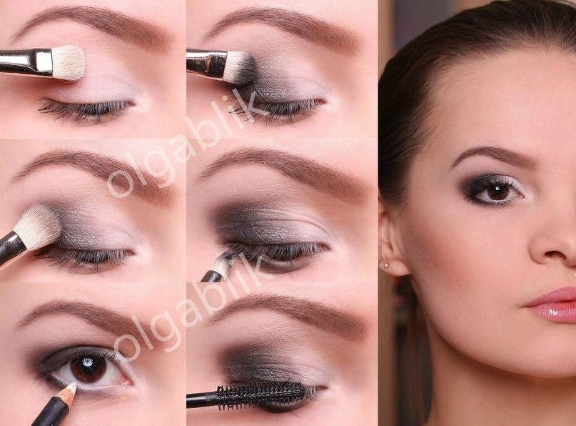 Сделать красивый макияж в домашних