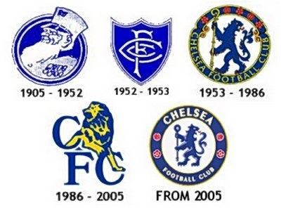 Chelsea logo history